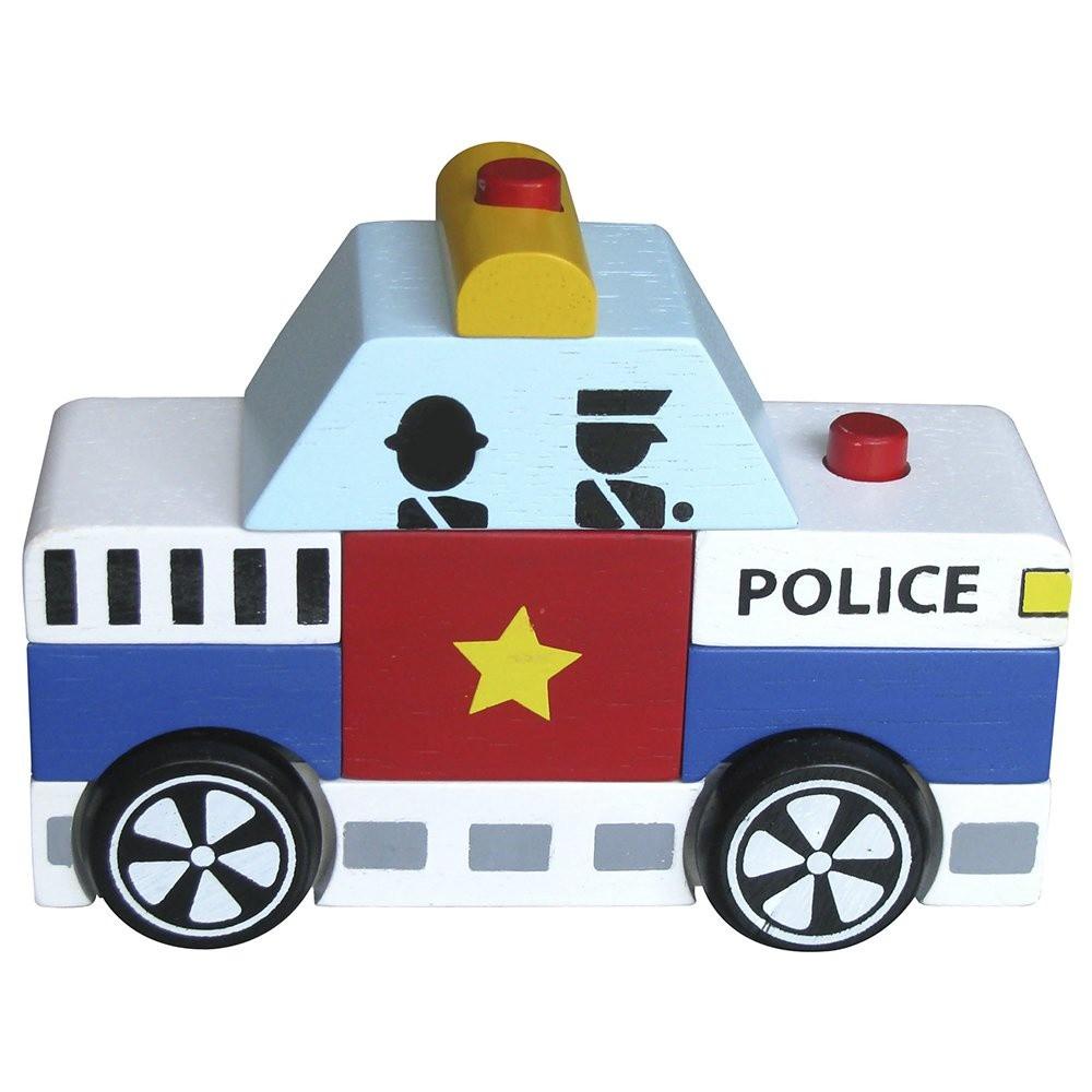 Đồ chơi Lắp ráp xe cảnh sát Winwintoys 60292