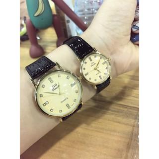 Cặp Đồng hồ đôi dây da Qianba cao cấp thời thượng QB50 thumbnail
