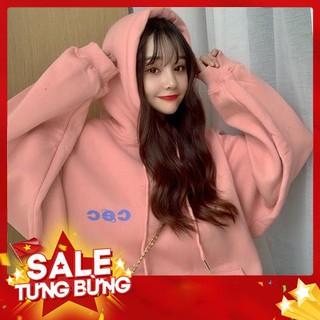 Áo hoodie phong cách Hàn Quốc năng động trẻ trung dành cho nữ -Hàng nhập khẩu