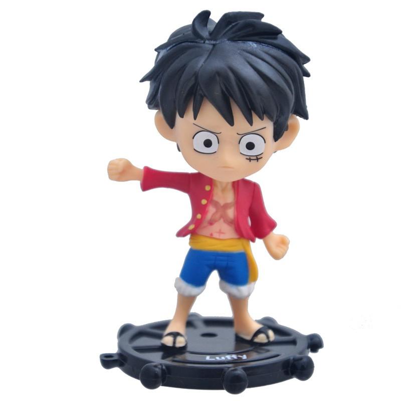 🔥Ready Stock One Piece 6PCS Action Figure Model Luffy Chopper