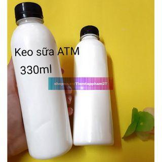 Keo sữa ATM 300ml đóng chai Nguyên Liệu Làm Slime