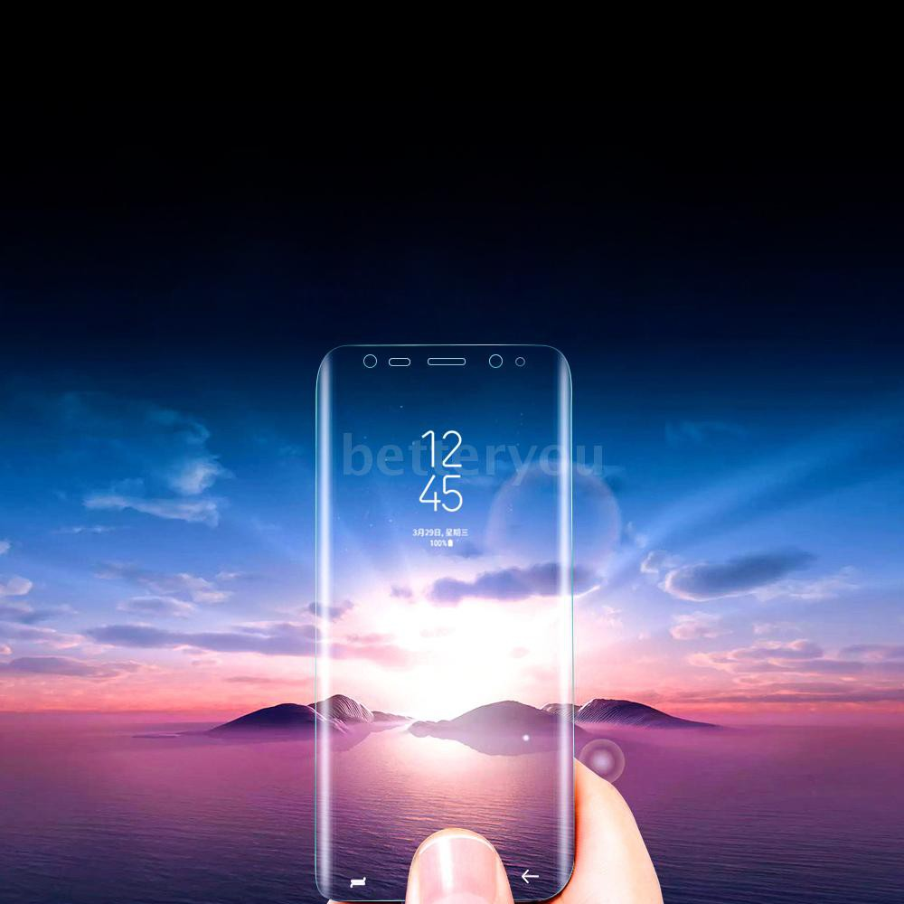 B&Y→Full Coverage Protective Film Soft Phone Screen Protector for Samsung Galaxy Note 8 6.3-inch Anti-scratch