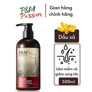 Dầu xả tóc dưỡng tóc P&M Passion PHÁP NHẬP KHẨU CHÍNH HÃNG chăm sóc tóc bóng mượt (500ml chai) thumbnail