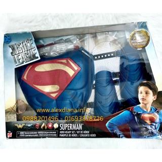Bộ Hoá Trang nhân vật SUPERMAN từ DC & Warner Bros hảng nnhập MỸ