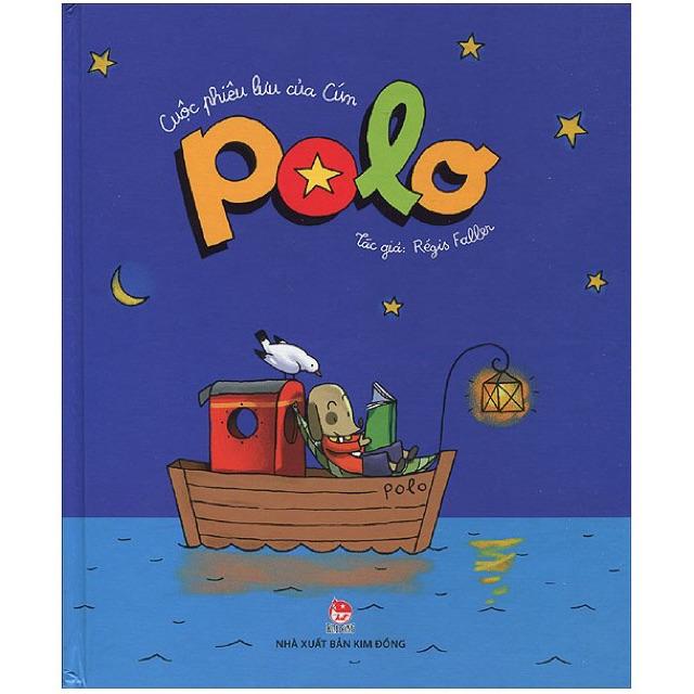 [Sách Thật] Cuộc Phiêu Lưu Của Cún Polo - Giá bìa 98k