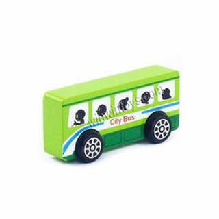 ĐỒ chơi gỗ cho bé – xe bus