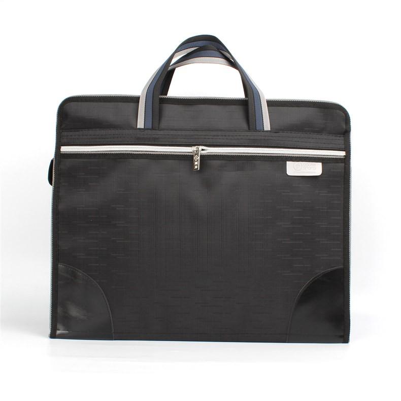 โนเบิลแบบพกพากระเป๋าเอกสารกระเป๋าผ้าใบกันน้ำกระเป๋าเอกสาร a4 ธุรกิจการประชุมการป