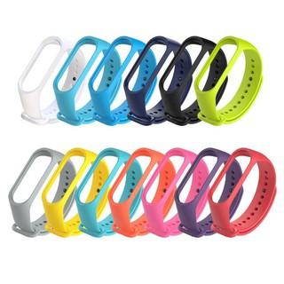 15 màu sắc dây đeo cổ tay cho Xiaomi Mi Band3, Miband 3, Miband 4 miband4 Silicone