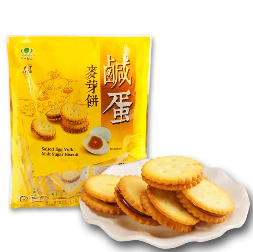 Bánh quy nhân trứng muối dẻo 180g date T1/20 Đài Loan