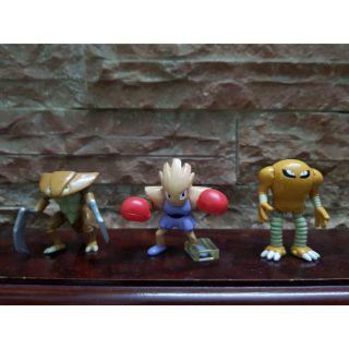 Set mô hình trưng bày sưu tập Pokemon hàng Bandai cổ