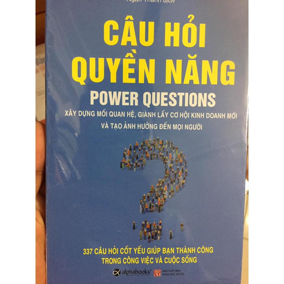 (SÁCH) CÂU HỎI QUYỀN NĂNG POWER QUESTIONS sách bọc plastic - 9983790 , 399698700 , 322_399698700 , 59000 , SACH-CAU-HOI-QUYEN-NANG-POWER-QUESTIONS-sach-boc-plastic-322_399698700 , shopee.vn , (SÁCH) CÂU HỎI QUYỀN NĂNG POWER QUESTIONS sách bọc plastic
