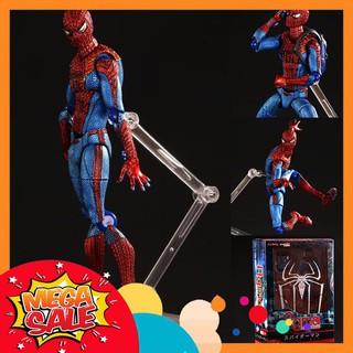 Mô Hình Người Nhện The Amazing Spider Man Phong Cách Figma Full Box