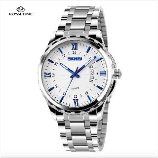[Tặng vòng tay]Đồng hồ nam thời trang Skmei SK9069.02 chính hãng dây thép chống gỉ cao cấp thumbnail