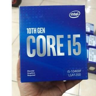 CPU Intel Core i5-10400F (2.9GHz turbo up to 4.3Ghz, 6 nhân 12 luồng, 12MB Cache, 65W) – Socket Intel LGA 1200(New 100%)