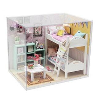 Mô hình nhà búp bê gỗ Cute Room – phòng ngủ của Cheryl
