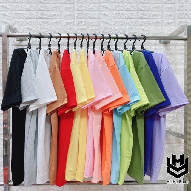 Áo Thun Trơn Nhiều Màu Nhiều Size Loại Tốt Giá Rẻ