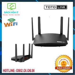 Bộ Phát Wifi Totolink A720R Chuẩn AC1200Mbps 4 Râu, Totolink N350RT Chuẩn N300Mbps 2 Râu - Hàng Chính Hãng thumbnail