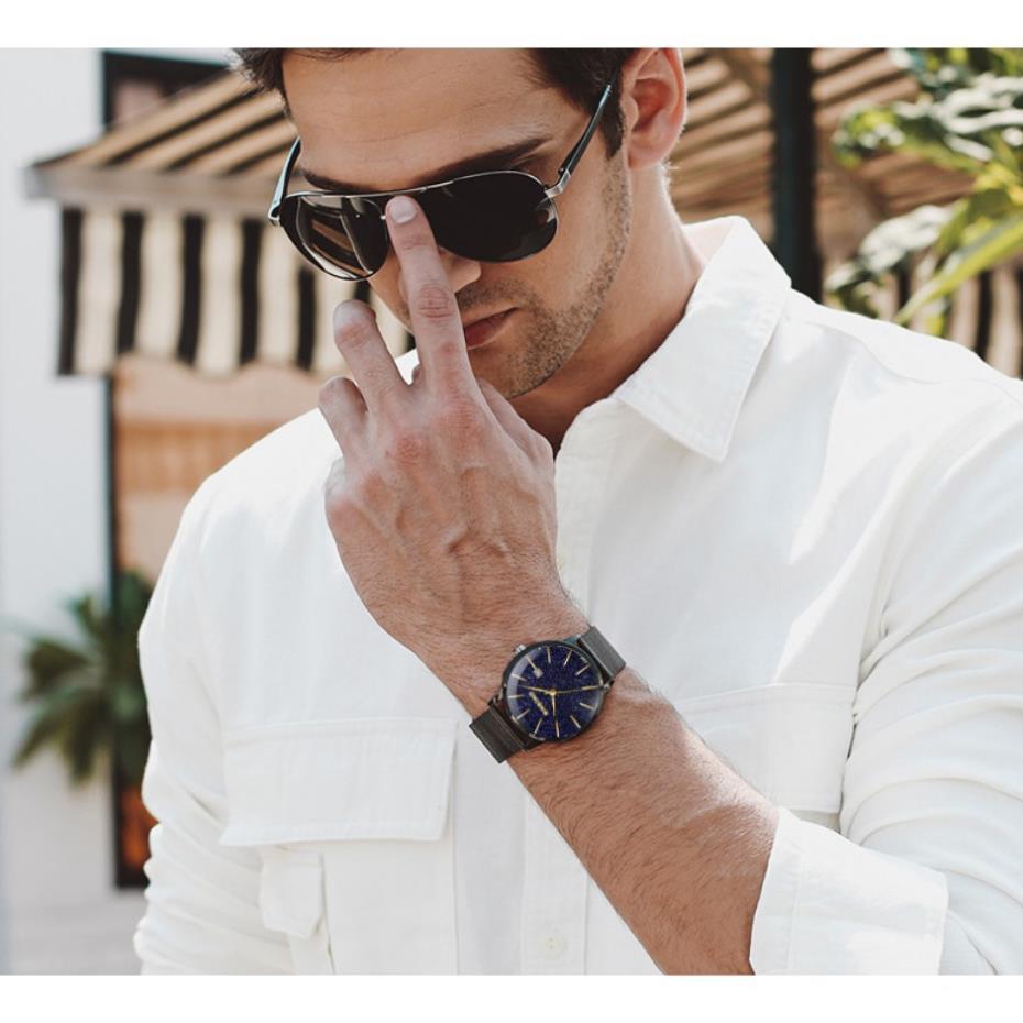 Siêu Phẩm (CHÍNH HÃNG) Đồng hồ nam chính hãng BINBOND dây thép Titanium cao cấp,  Có hộp Hãng.( Mã BIN0X)