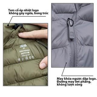 Hình ảnh Áo Khoác Nam 5S (4 màu), Chần Bông Cao Cấp, Siêu Nhẹ, Siêu Ấm, Phom Ôm Trẻ Trung-3
