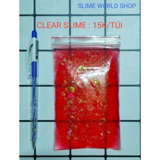CLEAR SLIME GIÁ RẺ 15K/TÚI