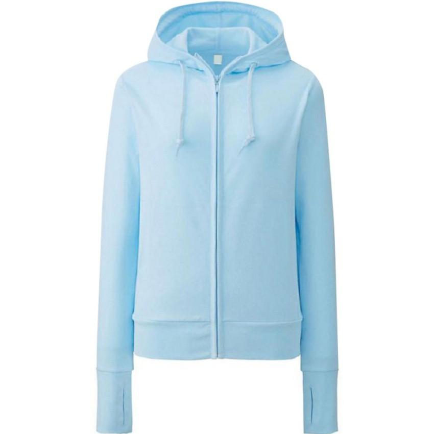 Áo khoác nhẹ da cá thời trang ( xanh nhạt)