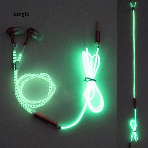 Tai nghe có dây gắn đèn LED phát quang sáng tạo giá đepk |shopee. VnShopdenledz