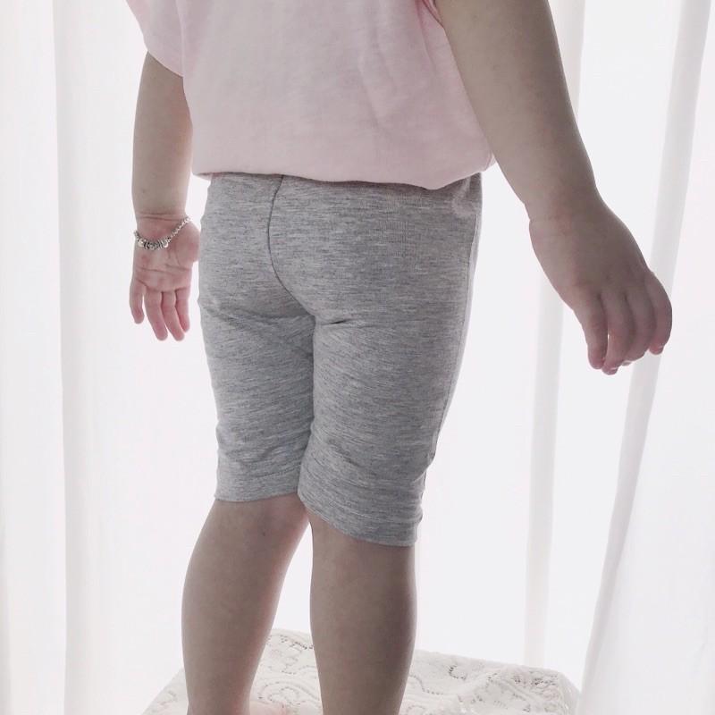 Set Quần Legging xám-đen-hồng thun lạnh mềm, mát