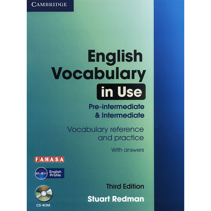 Sách - English Vocabulary in use - 3rd edition - Pre-Intermediate & Intermediate (kèm CD)