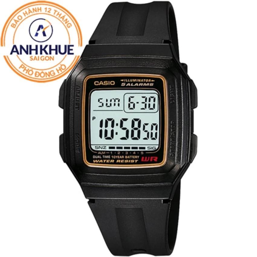 Đồng hồ nam dây nhựa huyền thoại Casio Anh Khuê F-201WA-9ADF - 3449217 , 887008093 , 322_887008093 , 350000 , Dong-ho-nam-day-nhua-huyen-thoai-Casio-Anh-Khue-F-201WA-9ADF-322_887008093 , shopee.vn , Đồng hồ nam dây nhựa huyền thoại Casio Anh Khuê F-201WA-9ADF