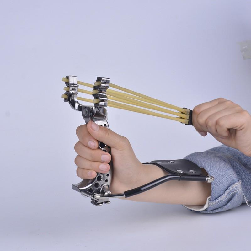 Ná Cao Su - Ná Thun Trợ Lực Cao Cấp (tặng kèm 2 dây + 1 túi bi sắt 7mm)