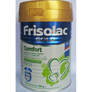 Date 2022 - Sữa bột Friso Frisolac Gold Comfort 400g