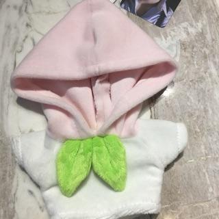 [Outfit Doll 20cm] áo hoodie quả đào