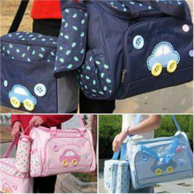 Set túi 3 chi tiết cho mẹ và bé - 2643827 , 68565013 , 322_68565013 , 180000 , Set-tui-3-chi-tiet-cho-me-va-be-322_68565013 , shopee.vn , Set túi 3 chi tiết cho mẹ và bé