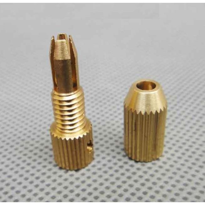 Đầu kẹp mũi khoan ( gắn trục động cơ 2mm , mũi khoan 1.6~2mm)