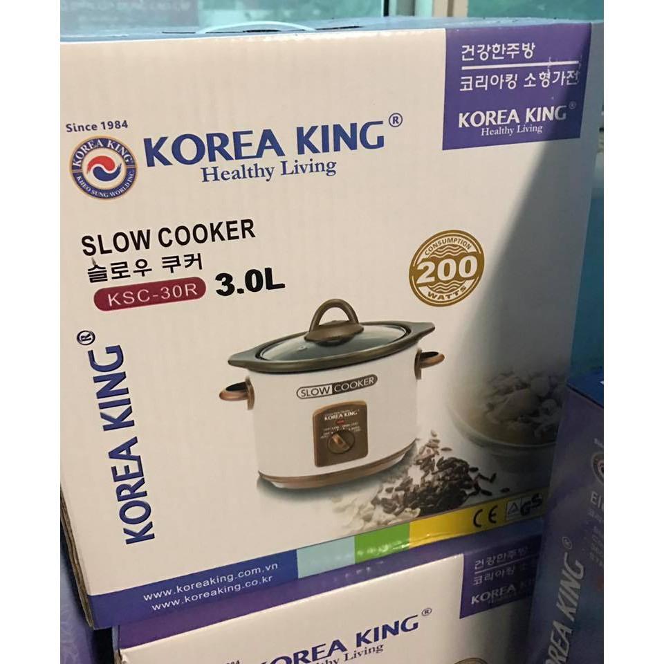 Nồi nấu chậm Korea King 3L KSC- 30R