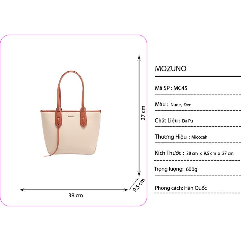 Túi Xách Nữ Đeo Vai Thời Trang Chính Hãng MICOCAH Size Lớn Kiểu Dáng Công Sở Sang Trọng Cực Xinh Siêu Đẹp MC45-Mozuno