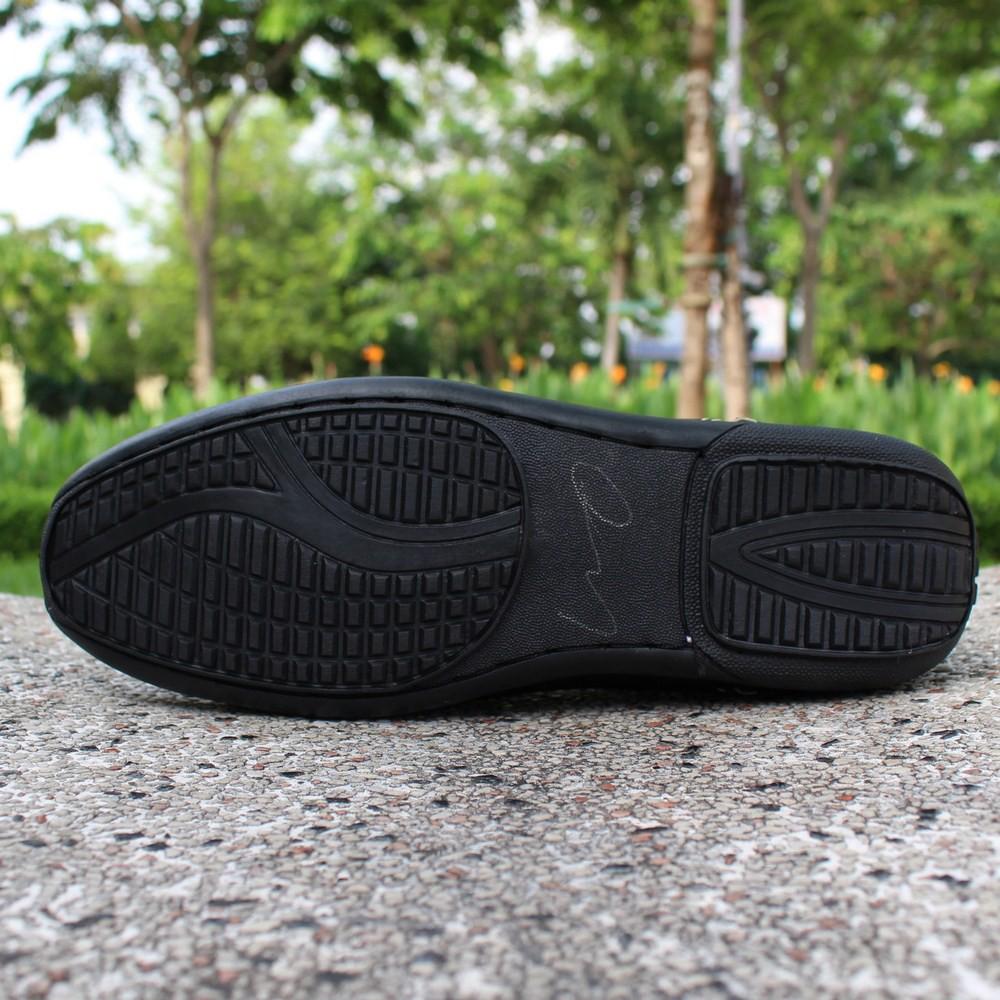 [+2 Tất Lười] Giày Lười Chỉ Trắng