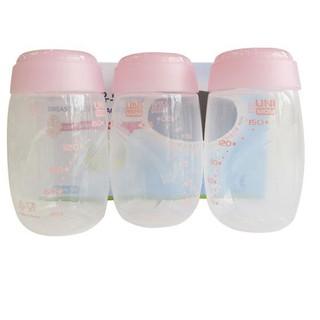 Bộ bình trữ sữa Unimom BPA Free, set 3 UM872170