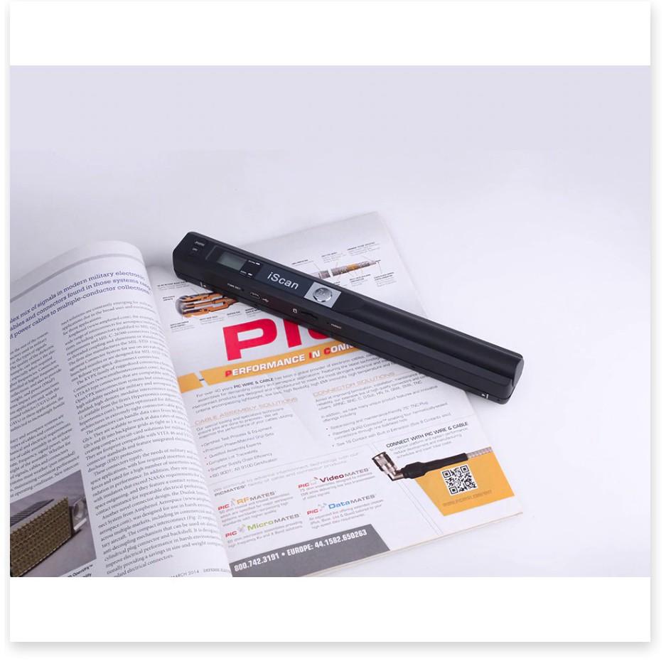 Máy Scan IScan Mini Di Động Máy 900 Dpi Màn Hình Hiển Thị LCD JPG/PDF A4