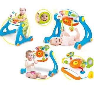 Đồ chơi Kệ chữ A kết hợp xe tập đi, bàn tập đứng cho bé có nhạc Winfun 0846 đồ chơi cho bé sơ sinh tới 3 tuổi thumbnail