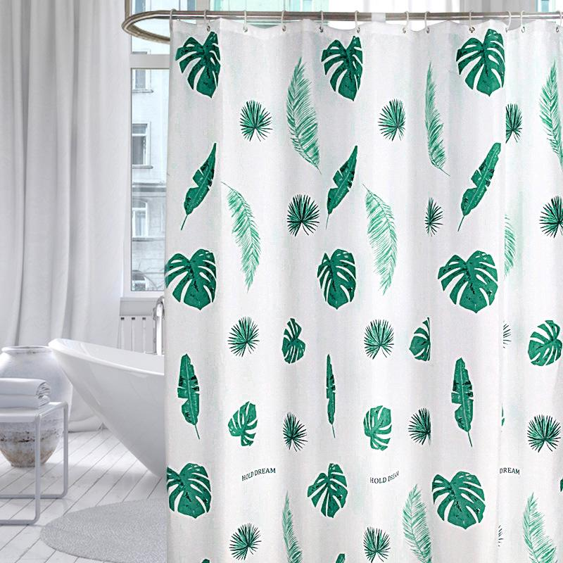 Rèm cửa dày kháng nước dùng cho phòng tắm