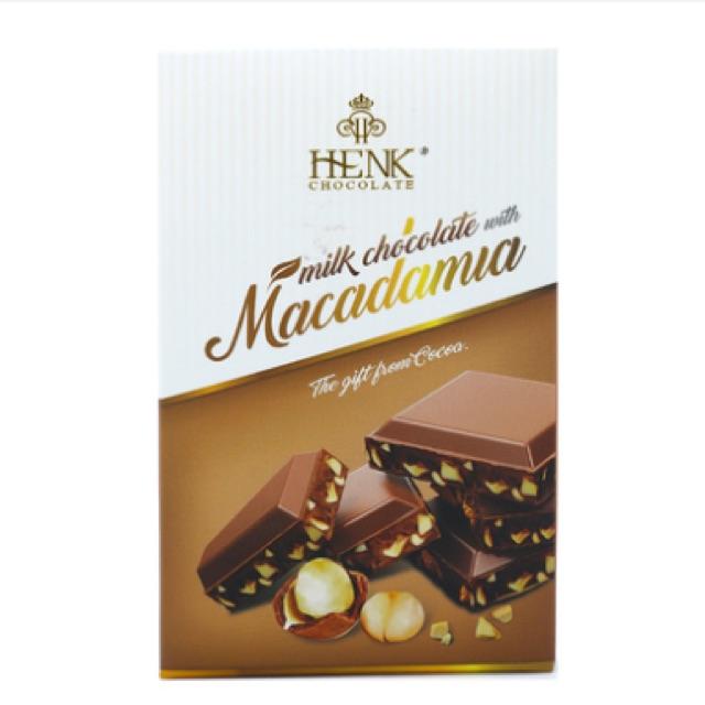 Sô cô la sữa Henk Chocolate nhân hạt mắc ca 50g - 2570699 , 784881679 , 322_784881679 , 55000 , So-co-la-sua-Henk-Chocolate-nhan-hat-mac-ca-50g-322_784881679 , shopee.vn , Sô cô la sữa Henk Chocolate nhân hạt mắc ca 50g
