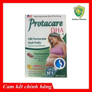 Thực phẩm Bổ Bà Bầu Protacare DHA- Hộp 30 Viên thumbnail
