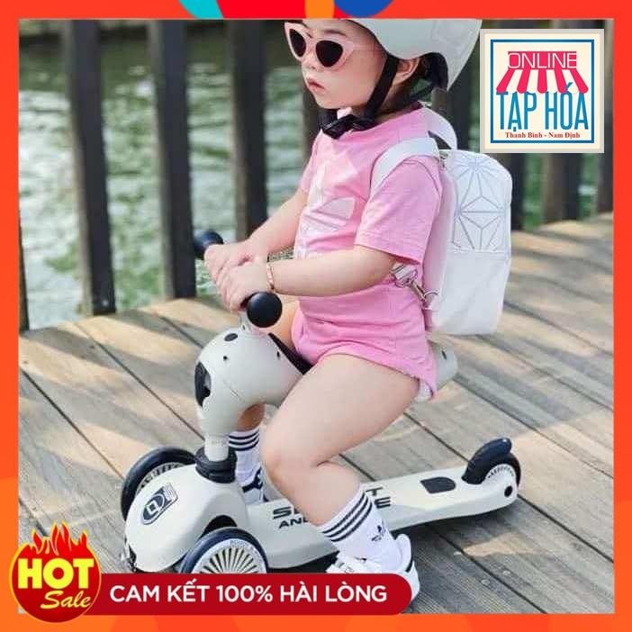 Xe Scooter and Ride HighwayKick 1 dành cho trẻ em 2 trong 1 nhập khẩu Hàn Quốc