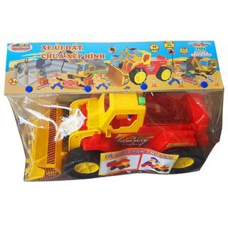 Bộ đồ chơi xếp hình sáng tạo 299 (L3-Xe ủi đẩt chứa XH) – M1552-LR