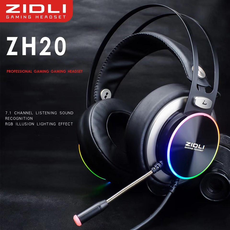 Tai Nghe Zidli ZH20 âm thanh 7.1 - Hàng Chính Hãng