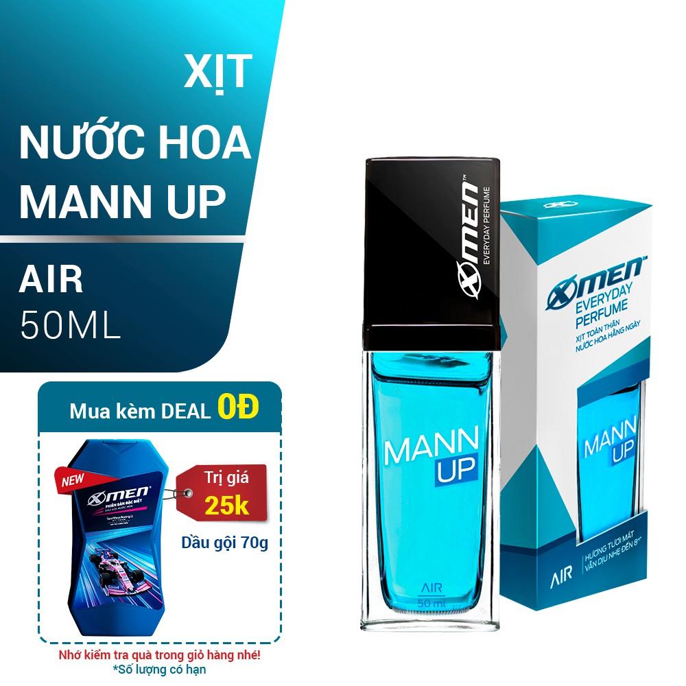 Xịt nước hoa hằng ngày X-Men Everyday Perfume Mann Up Air
