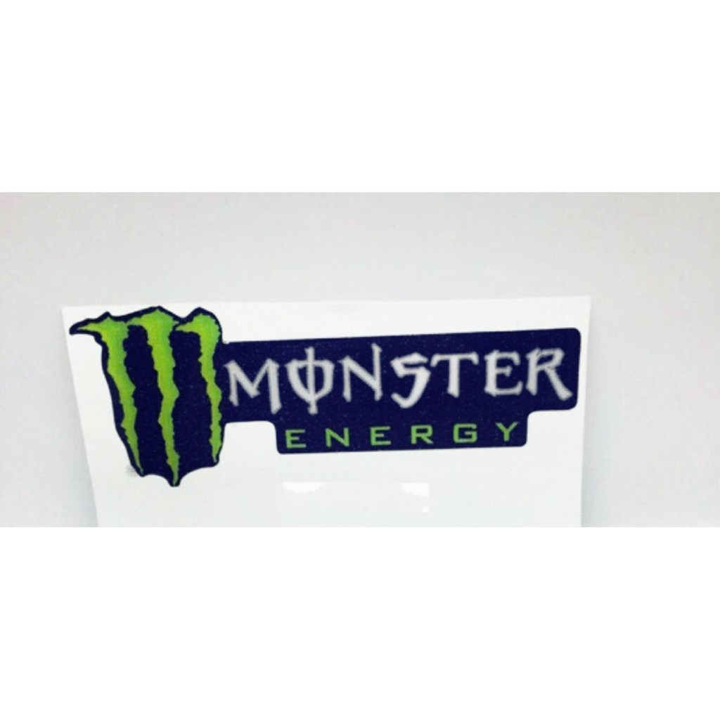Siêu hot_Tem logo Decal dán phuộc Monster