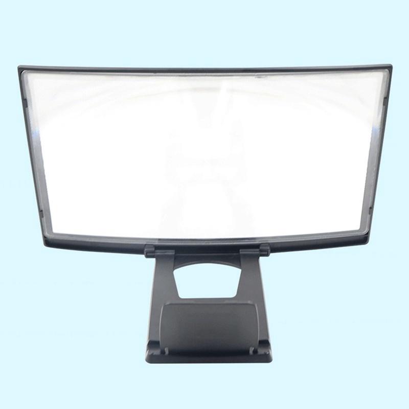 Kính phóng đại màn hình điện thoại xem TV 3D cong/thẳng 12 Inch \/7.5Inch