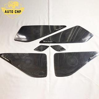 Ốp màng loa cho xe HYUNDAI TUCSON chất liệu thép mạ TITAN, bảo vệ khu vực loa sạch sẽ không bụi bặm AUTO CNP thumbnail